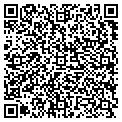 QR code with Tom's Barber Shop & Men's contacts