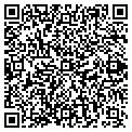 QR code with R & B Liquors contacts