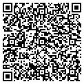 QR code with P M Respiratory Service Inc contacts
