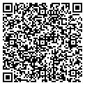 QR code with R & A Farms Inc contacts