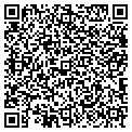 QR code with B & J Cleaning Service Inc contacts