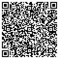 QR code with H & T Development contacts
