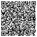 QR code with E & M Pool Plastering Inc contacts