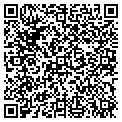 QR code with B & B Janitorial Service contacts