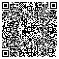 QR code with B & P Courier Service contacts
