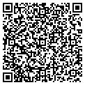 QR code with P & R Distr Inc contacts
