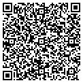 QR code with P & F Landscaping contacts