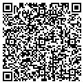 QR code with D & R Video Inc contacts