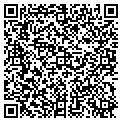 QR code with B & T Electrical Service contacts