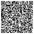 QR code with M M Gas & Food Inc contacts