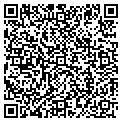 QR code with A & M Nails contacts