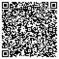 QR code with K & J's Lawn Service contacts