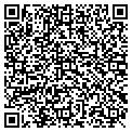 QR code with E K Coggin Plumbing Inc contacts