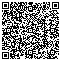 QR code with CGM Service contacts