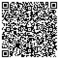 QR code with B & B Jewelry & Pawn contacts