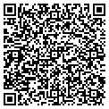 QR code with H & H Tile & Marble Co contacts