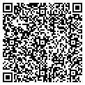 QR code with B R Surfing School contacts