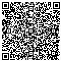 QR code with C & B Health & Nutrition contacts