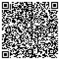 QR code with D & M Wine & Liquor contacts