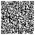 QR code with B & B Beauty Salon contacts