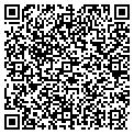 QR code with D K M Corporation contacts