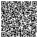 QR code with D & S Bicycle Shop contacts