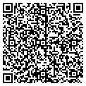QR code with K & D Eggleston Inc contacts