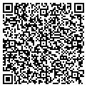 QR code with D & D Custom Cabinets Inc contacts