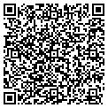 QR code with B & J Lawncare contacts