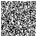 QR code with B & R Express contacts