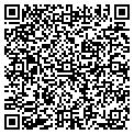 QR code with B & H Care Homes contacts