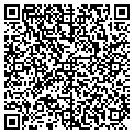 QR code with D & G Custom Blinds contacts