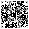 QR code with B K Towing Roadside Assistance contacts