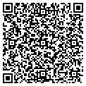 QR code with P&F Realty Inc contacts