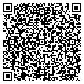 QR code with B & D Tractor Repair contacts