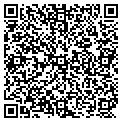QR code with M & R Video Gallery contacts