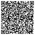 QR code with P & D Discount Beverages contacts