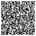 QR code with B & B Fence Company contacts