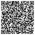 QR code with M & R Painting contacts