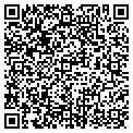 QR code with J & F Creations contacts