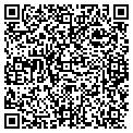 QR code with B & B Factory Outlet contacts