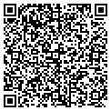 QR code with R M Productions Inc contacts