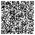 QR code with F & T Warehouse contacts