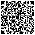 QR code with Hacker Hut contacts