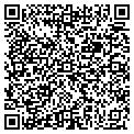 QR code with H & O Travel Inc contacts