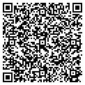 QR code with R M Trucking Service Inc contacts