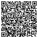 QR code with B & H Paving Inc contacts