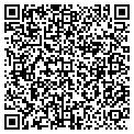 QR code with J & K Beauty Salon contacts