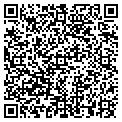QR code with R & R Satellite contacts