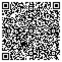 QR code with K & M Accent Builders Inc contacts